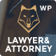 Download Lawyer & Attorney - Theme for Lawyers Attorneys and Law Firm from ThemeForest