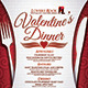 Download Valentine's Dinner Menu from GraphicRiver