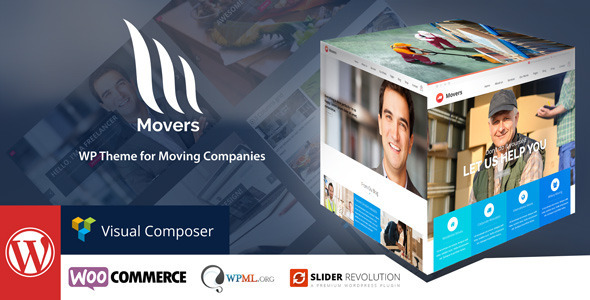 mover moving company wordpress theme