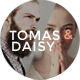 Download Tomas & Daisy - A Stylish Blog for Him & Her from ThemeForest