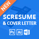 Download SCRESUME | Resume CV And Cover Letter Template from GraphicRiver