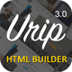 Download Urip - Professional Landing Page With HTML Builder from ThemeForest