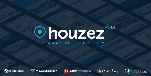 Houzez v1.4.3 – Real Estate WordPress Theme