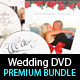 Download Wedding DVD Cover & Disc Label Premium Bundle from GraphicRiver