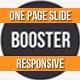 Download BOOSTERIUS - Responsive one page slide WordPress theme from ThemeForest
