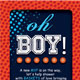 Download Basketball Baby Shower Invitation & Raffle Ticket from GraphicRiver