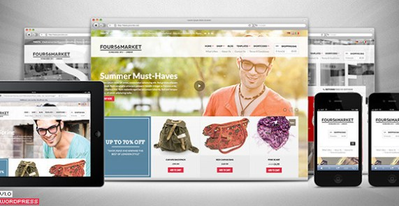 456Market is a modern WooCommerce theme