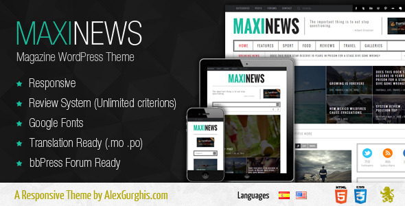 10 New Magazine WordPress Themes