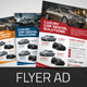 Download Automotive Car Sale Rental Flyer Ad v3 from GraphicRiver