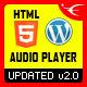 Download HTML5 Audio Player WordPress Plugin from CodeCanyon