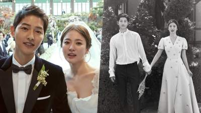 Song Joong Ki And Song Hye Kyo Release Gorgeous Wedding ...