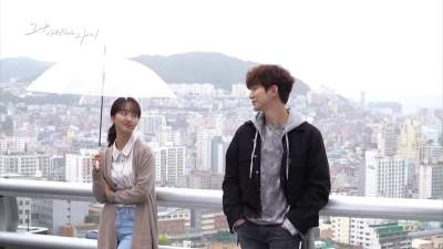 Watch: 2PM's Junho And Won Jin Ah Are All Smiles During