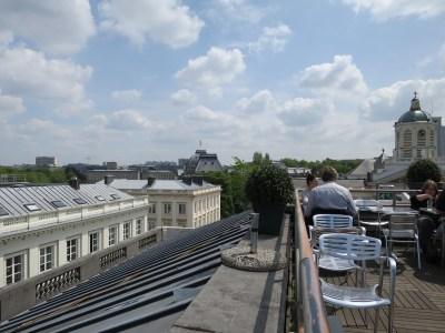 Vue terrasse MIMA Bruxelles 2