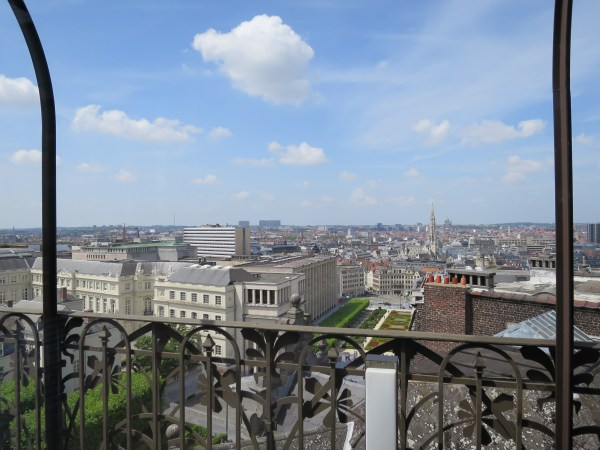 Vue terrasse MIMA Bruxelles