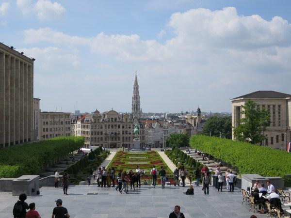 Mont des Arts Bruxelles