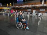 Ryanair Charleroi PMR Handicap fauteuil roulant