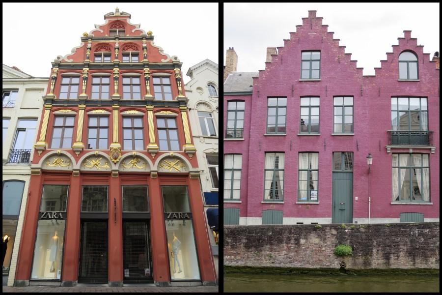 Visiter Bruges fauteuil roulant facades