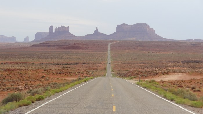Ouest américain Monument Valley