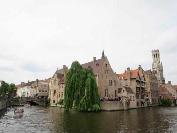 Visiter Bruges fauteuil roulant Rozenhoedkaai