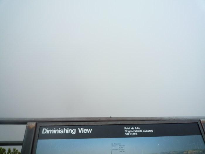 Ouest américain Grand Canyon fog