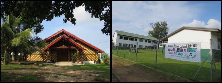 Nakamal des Chefs et école anglophone de Port Vila
