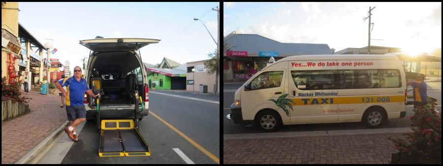 Airlie Beach taxi