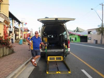 Airlie Beach wheelchair taxi