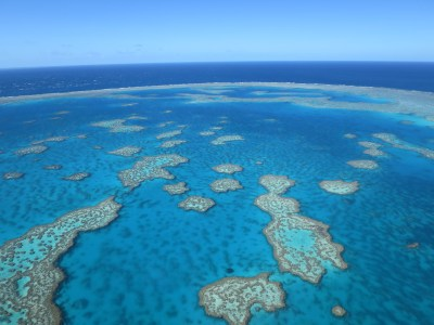 Whitsunday GSL flight Great Barrier Reef