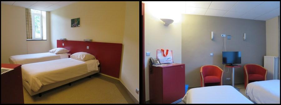 Chambre PMR handicap Hotel Floreal La Roche Ardenne