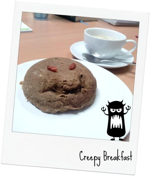 creepy breakfast