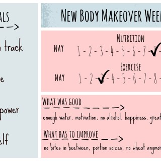 New Body Makeover Challenge – Week 1