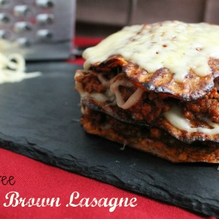 Grain free Hash Brown Lasagne