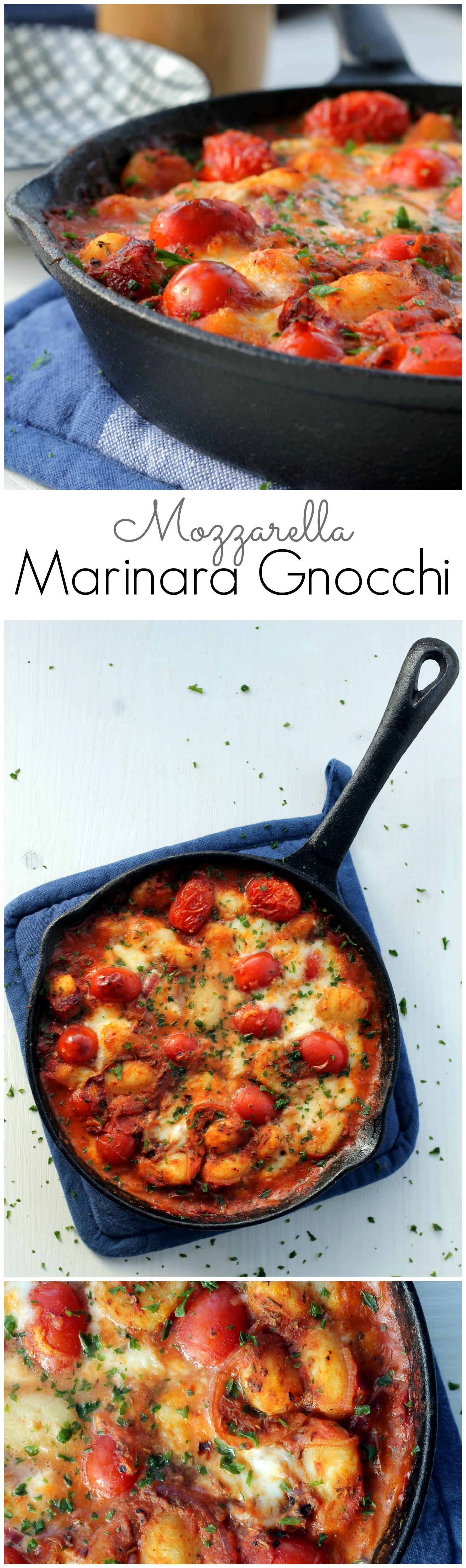 Mozzarella & Gnocchi Marinara