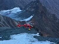 山岳救助にやってきたヘリコプターがクラッシュして新たな救助を呼ぶ羽目に。