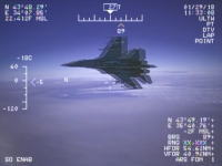 米軍の偵察機EP-3とロシアの戦闘機Su-27が空中衝突レベルの異常接近(1.5メートル)