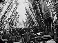 100年前の東京はこんな感じだったという貴重な映像。(速度補正)