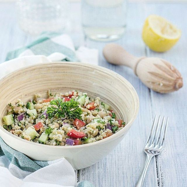 This may become your favourite summer meal! healthy bulgur saladhellip