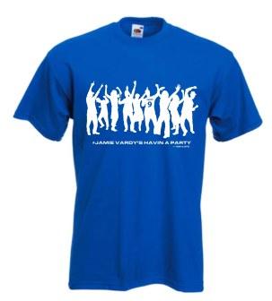 100LCFC T Shirt - Vardy Party Look Samll