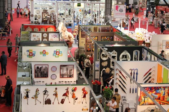 Detalle de los expositores de Expohogar Primavera 2013