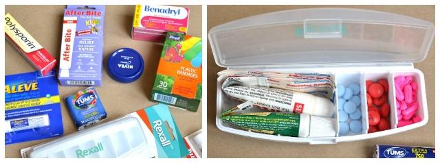 Purse First Aid Kit / Summer travel first aid kit