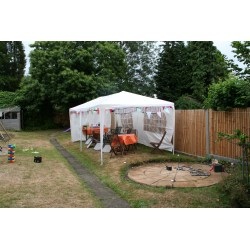 Inspiring Marquee Garden View Challenge Organise A Surprise Party Ways To Happy Backyard Party Shelter Backyard Party Shed Plans
