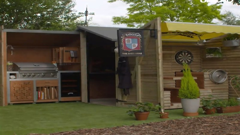 Large Of Man Cave Shed