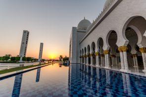 Wielki Meczet Szejka Zayeda, Abu Dhabi, Zjednoczone Emiraty Arabskie