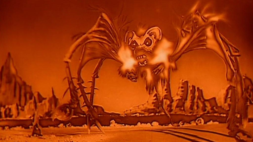 O terrível Rato-Morcego-Aranha