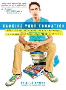 Stephen's book on UnSchooling, Hacking You Education, was released in 2013.