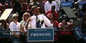 "President Obama tells Virginia voters that ""this country does not succeed when only the rich are getting richer."""