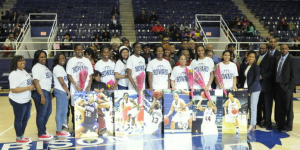 Lady Bison, 18-10, bid farewell to seniors.