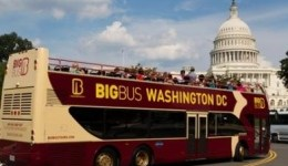 The government shutdown prevented Big Bus Tours and other companies from taking visitors close to monuments in the nation's capital.