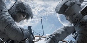 """Gravity"" is among the Oscar contenders at the 2014 Academy Awards."
