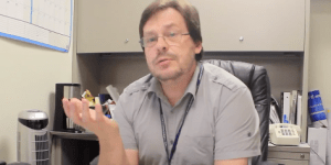 Sergei Nekhai, Ph.D., a research scientist and  associate professor in the College of Medicine at Howard University.